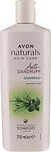 Šampon proti lupům Máta a čajovník - Avon Naturals Herbal Hair Care Shampoo — foto N1