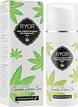 Parfémy, Parfumerie, kosmetika Konopný korekční krém pro problematickou pleť - Ryor Cannabis Derma Care Corrective Hemp Cream For Skins To Pro