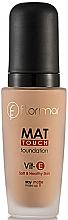 Parfémy, Parfumerie, kosmetika Matující make-up - Flormar Mat Touch Foundation