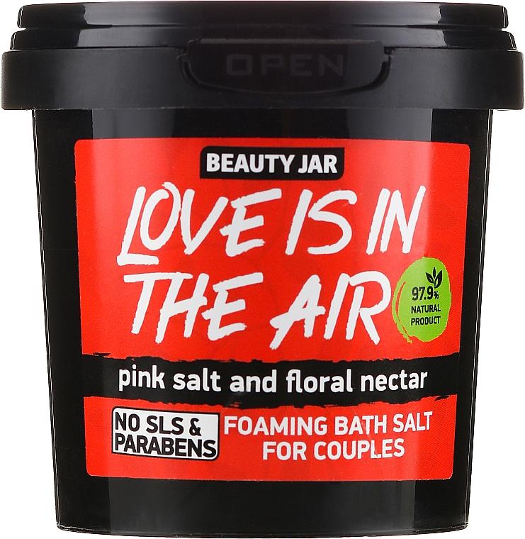 """Pěnivá sůl do koupele """"Love Is In The Air"""" - Beauty Jar Foaming Bath Salt"""