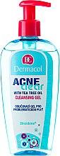Parfémy, Parfumerie, kosmetika Gel pro odstranění make-upu a čištění problematické pleti - Dermacol Acne Clear Make-Up Removal & Cleansing Gel
