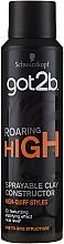 Parfémy, Parfumerie, kosmetika Sprej-hlína na vlasy modelující - Schwarzkopf Got2b Roaring High Sprayable Clay Constructor