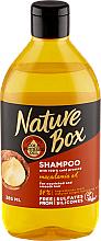 Parfémy, Parfumerie, kosmetika Hydratační šampon s makadamovým olejem - Nature Box Macadamia Oil