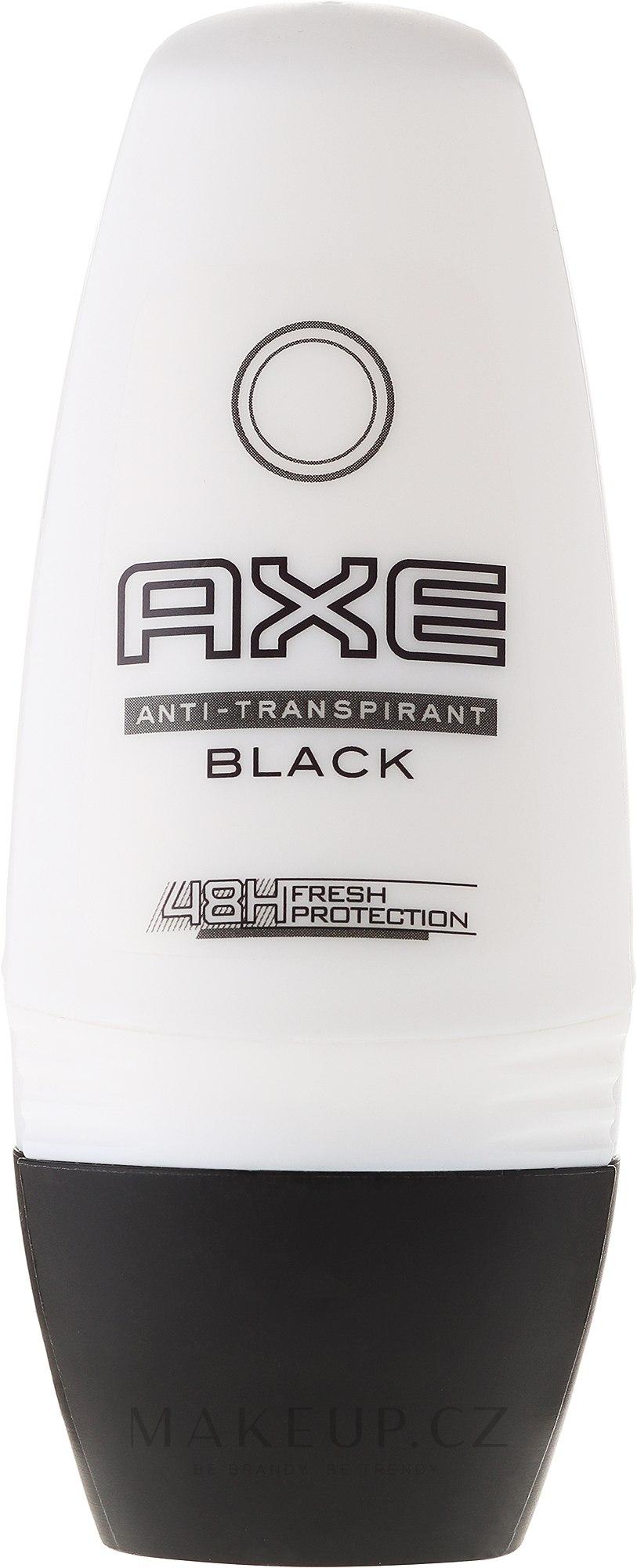 Kuličkový deodorant - Axe Black 48H Anti-perspirant — foto 50 ml
