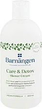 """Parfémy, Parfumerie, kosmetika Krém-gel do sprchy a koupele """"Péče a detoxikace"""" - Barnangen Care & Detox Shower Cream"""