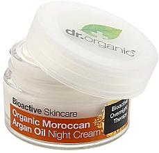 Parfémy, Parfumerie, kosmetika Tělový noční krém Arganový olej - Dr. Organic Bioactive Skincare Organic Moroccan Argan Oil Night Cream