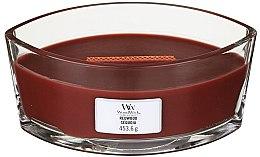 Parfémy, Parfumerie, kosmetika Vonná svíčka ve sklenici - Woodwick Hearthwick Flame Ellipse Candle Redwood