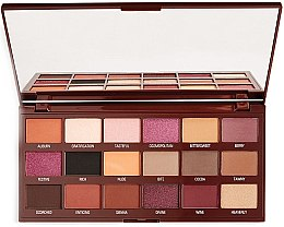Parfémy, Parfumerie, kosmetika Paleta očních stínů - I Heart Revolution Cranberries & Chocolate Palette