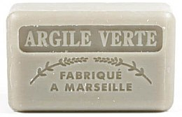 Parfémy, Parfumerie, kosmetika Marseille mýdlo se zeleným jílem - Foufour Savonnette Marseillaise Argile Verte