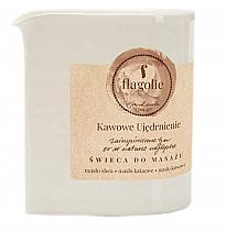 Parfémy, Parfumerie, kosmetika Masážní svíčka Posilující káva - Flagolie Coffee Firming Massage Candle