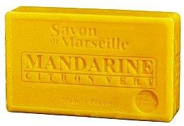 Parfémy, Parfumerie, kosmetika Přírodní mýdlo Mandarinka a limetka - Le Chatelard 1802 Soap Mandarin & Lime