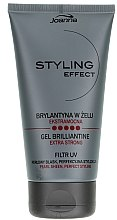 Parfémy, Parfumerie, kosmetika Brillantine gel na vlasy - Joanna Styling Effect Gel Brilliantine