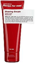 Parfémy, Parfumerie, kosmetika Krém na holení - Recipe For Men Shaving Cream