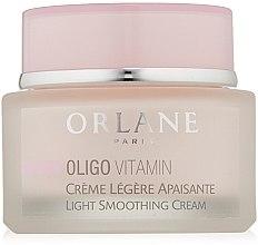 Parfémy, Parfumerie, kosmetika Lehký vyhlazující krém - Orlane Oligo Vitamin Light Smoothing Cream