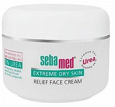Parfémy, Parfumerie, kosmetika Krém pro velmi suchou plet' - Sebamed Extreme Dry Skin Relief Face Cream 5% Urea