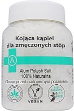 Parfémy, Parfumerie, kosmetika Uklidňující sůl pro unavené nohy - Biomika