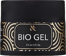 Parfémy, Parfumerie, kosmetika Průhledný biogel - F.o.x Bio Gel 3 in 1 Base Top Builder