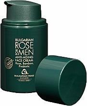 Parfémy, Parfumerie, kosmetika Anti-age krém pro muže - Bulgarian Rose For Men Anti-Agin Face Cream