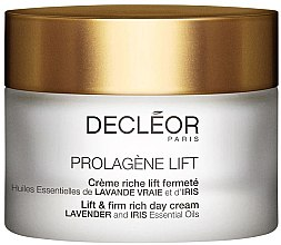 Parfémy, Parfumerie, kosmetika Krém na obličej - Decleor Prolagene Lift Lift & Firm Rich Day Cream Lavender and Iris