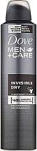 Parfémy, Parfumerie, kosmetika Antiperspirant ve spreji 48h Dove Men+Care Invisble Dry - Dove