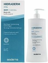 Parfémy, Parfumerie, kosmetika Tělové mléko - SesDerma Laboratories Hidraderm Body Milk