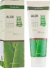 Parfémy, Parfumerie, kosmetika Čisticí pěna s extraktem z aloe - FarmStay Pure Cleansing Foam Aloe