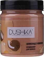 Parfémy, Parfumerie, kosmetika Kondicionér na vlasy Čokoláda s kokosem - Dushka
