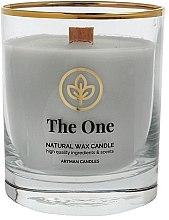 Parfémy, Parfumerie, kosmetika Dekorativní svíčka ve sklenici, 8x9,5cm - Artman Organic The One