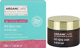 Parfémy, Parfumerie, kosmetika Posilující krém od vrásek - Arganicare Shea Butter Anti Aging Cream