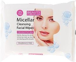 Parfémy, Parfumerie, kosmetika Čistící micelární ubrousky - Beauty Formulas Micellar Cleansing Facial Wipes