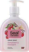 "Parfémy, Parfumerie, kosmetika Krémové mýdlo ""Malinový dezert"" - Seal Cosmetics Cream Soap"