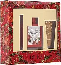 Parfémy, Parfumerie, kosmetika Bi-Es Blossom Roses - Sada (edp/100 ml + sh/gel/50ml + parf/12ml)