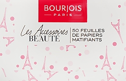 Parfémy, Parfumerie, kosmetika Matující pleťové ubrousky - Bourjois Mattifying Blotting Papers