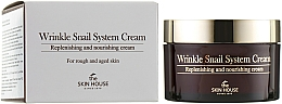 Parfémy, Parfumerie, kosmetika Pleťový krém anti-age hlemýždí - The Skin House Wrinkle Snail System Cream