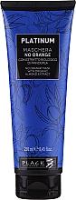 Parfémy, Parfumerie, kosmetika Maska na vlasy s rostlinnými extrakty z mandlí pro neutralizaci oranžových a měděných odstínů - Black Professional Line Platinum No Orange Mask With Organic Almond Extract