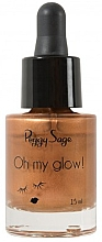 Parfémy, Parfumerie, kosmetika Tekutý bronzer - Peggy Sage Oh my Glow! Liquid Bronzer
