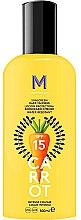 Parfémy, Parfumerie, kosmetika Opalovací krém pro tmavé opalování - Mediterraneo Sun Carrot Sunscreen Dark Tanning SPF15