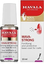 Parfémy, Parfumerie, kosmetika Trasparentní vrchní lak na nehty - Mavala Colorfix Strong Flexible Top Coat