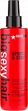 Parfémy, Parfumerie, kosmetika Lak extra silné fixace bez aerosolu - SexyHair BigSexyHair Spritz & Stay Intense Hold Fast Dry Non-Aerosol Hairspray
