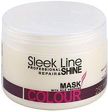 Parfémy, Parfumerie, kosmetika Maska na vlasy - Stapiz Sleek Line Colour Mask