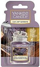 Parfémy, Parfumerie, kosmetika Osvěžovač vzduchu do auta - Yankee Candle Car Jar Ultimate Dried Lavender & Oak