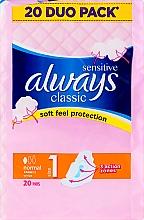 Parfémy, Parfumerie, kosmetika Hygienické vložky, 20 ks - Always Classic Sensitive Normal