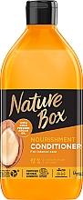 Parfémy, Parfumerie, kosmetika Balzám pro výživu a intenzivní péči o vlasy s arganovým olejem - Nature Box Nourishment Vegan Conditioner With Cold Pressed Argan Oil