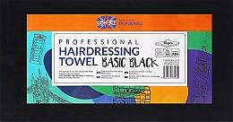 Parfémy, Parfumerie, kosmetika Jednorázové ručníky, 50 ks, černé - Ronney Professional Hairdressing Towel Basic Black