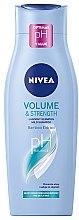 """Parfémy, Parfumerie, kosmetika Šampon-péče """"Objem a péče"""" - Nivea Hair Care Volume Sensation Shampoo"""