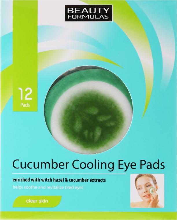 Náplasti pod oči - Beauty Formulas Cucumber Cooling Eye Pads