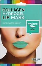 Parfémy, Parfumerie, kosmetika Kolagenová hydrogelová maska na rty - Beauty Face Collagen Hydrogel Lip Mask Hyaluro Filler