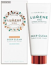 Parfémy, Parfumerie, kosmetika Maska na obličej čistící - Lumene Sisu Expert Deep Clean Purifying Mask
