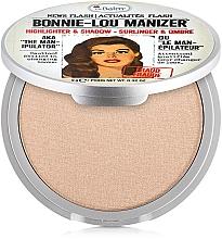 Parfémy, Parfumerie, kosmetika Rozjasňovač - theBalm Bonnie-Lou Manizer Highlighter & Shadow (tester)
