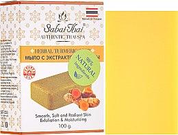 Parfémy, Parfumerie, kosmetika Mýdlo s extraktem z kurkumy - Sabai Thai Herbal Turmeric Soap